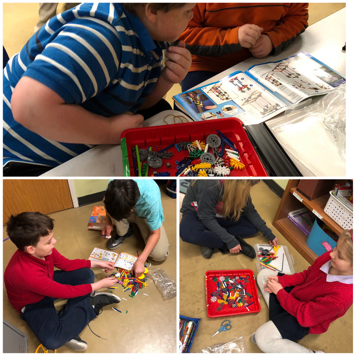 Building Simple Machines with K'NEX and Legos!