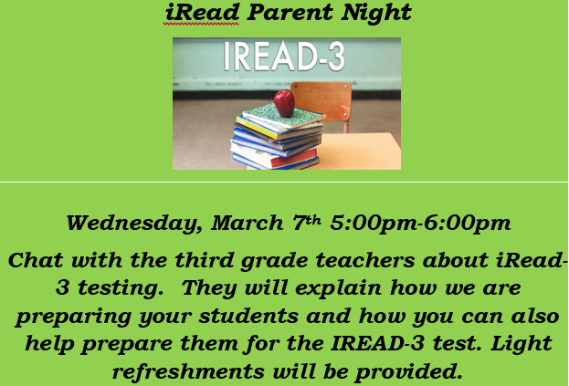 Iread parent night